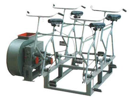 DJF-1電動腳踏兩用風機